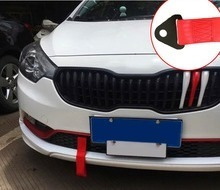 linga cinta remolque atornillable auto sparco amarillo a22