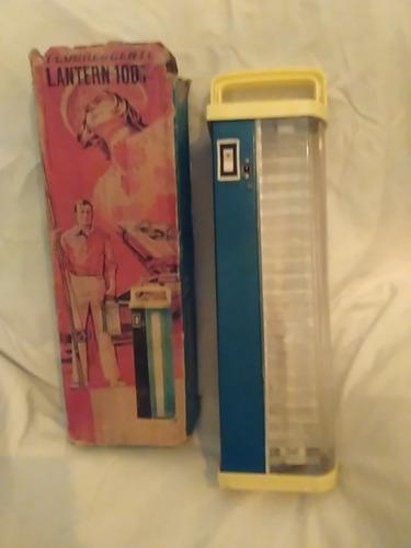 linterna fluorescente antigua para tubo
