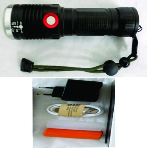 linterna táctica con led t6 de 10 watt
