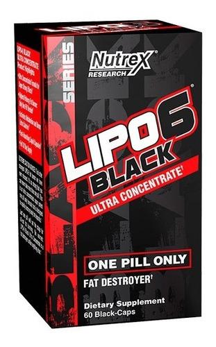 lipo 6 black nutrex ultra conc quemador de grasa mercadopago