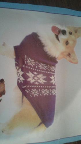 liquidacion ! hermoso abrigo en lana para perritos