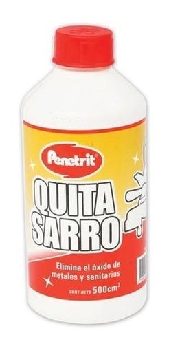 líquido quita sarro y óxido 500 ml penetrit - deltero