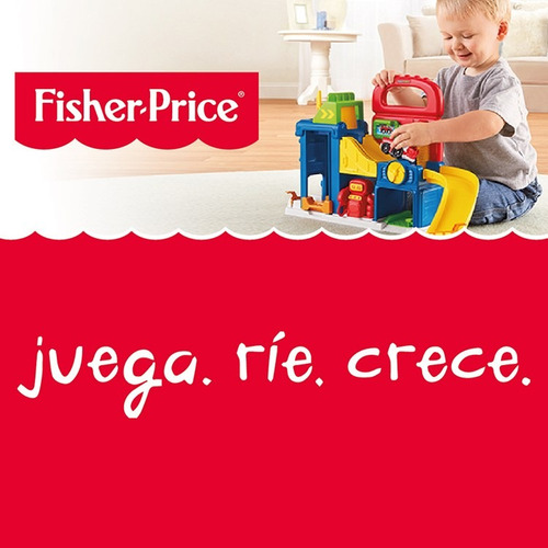 little people auto pickup y rally fisher price drh01-drh04