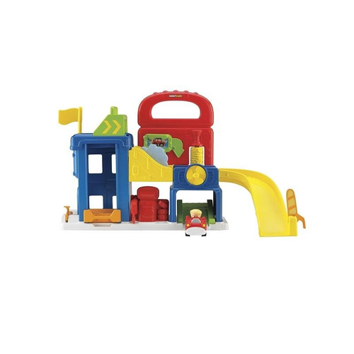 little people wheelies garage