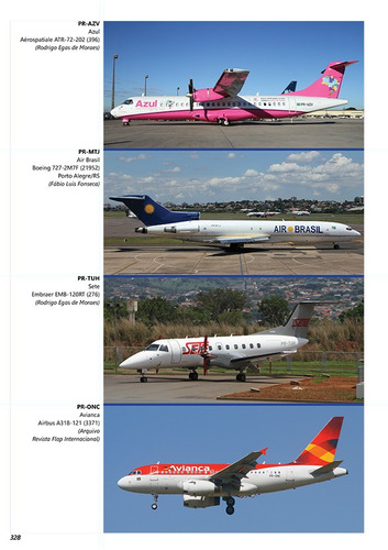 livro cronologia da aviação comercial brasileira