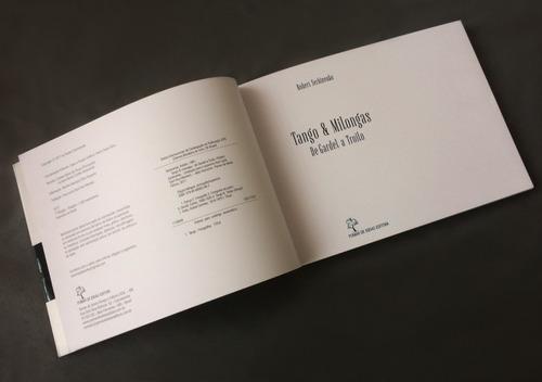 livro de fotografias - tango & milongas: de gardel a troilo