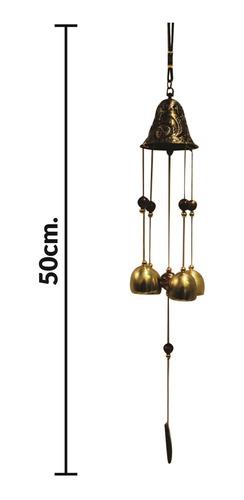 llamador de angeles campana metal 52cm caja regalo - el rega