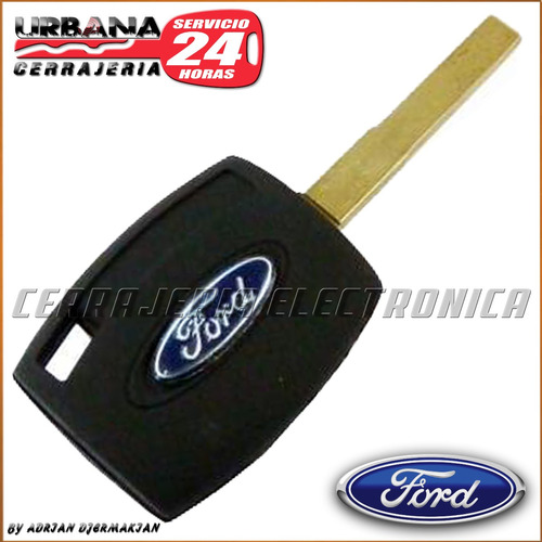 llave codificada ford