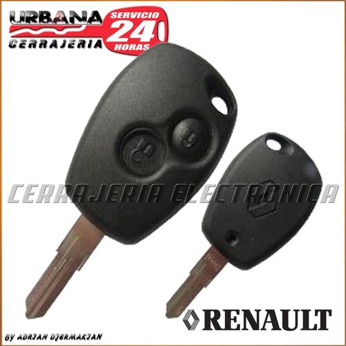 llave renault carcasa