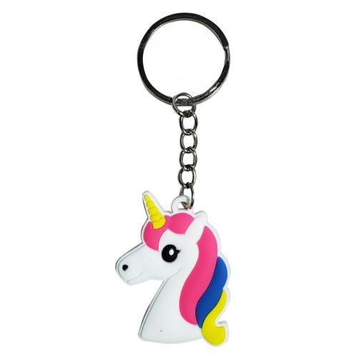 llavero goma diseño  unicornio souvenir cumpleaños - el rega