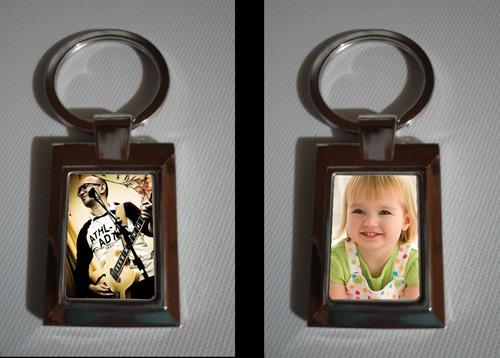 llaveros personalizados metal para regalo con  foto