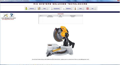 locação de ferramentas, equipamentos e andaimes