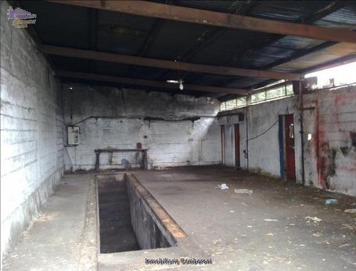 local de 120 m2 de techo liviano con baño cw11462