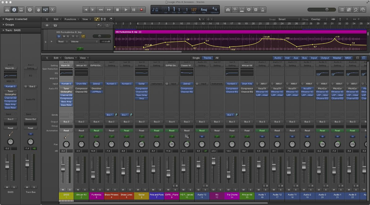 Autotune 7 logic pro x | How to configure MIDI control of Auto  2019