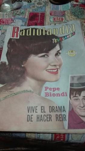 lolita torres,pepe biondi.revista radiolandia.ene.1954.