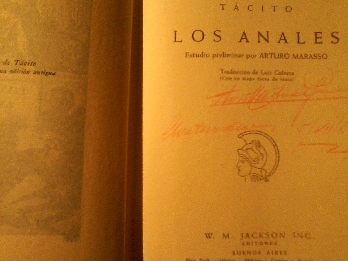 Los Anales Tacito Historia Antigua Roma Paysandu 300 00