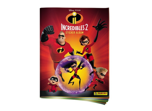 los increibles 2 - display de 50 sobres + album obsequio