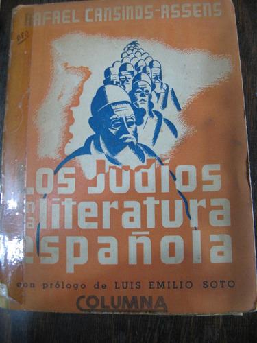 los judios en la literatura española. casinos assens