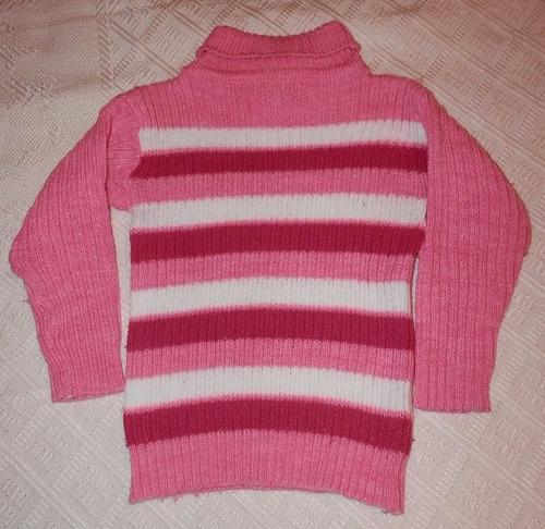 lote 2 poleras lana y polar-niñas 2-3 años
