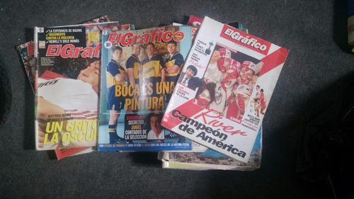 lote 20 revistas el grafico x 500