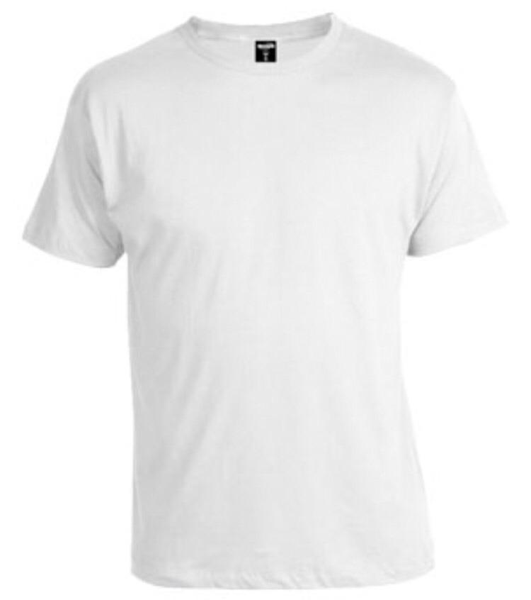 282a6fe48 lote 65 camisetas de algodón nuevas lisas para estampar. Cargando zoom.