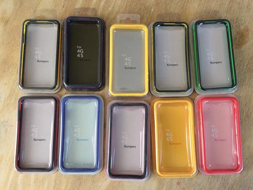 lote bumper iphone 4/4s nuevos