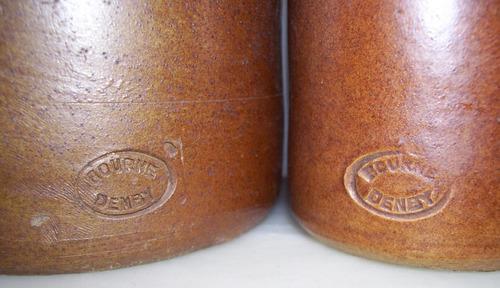 lote de 2 antiguoos porrones de tinta