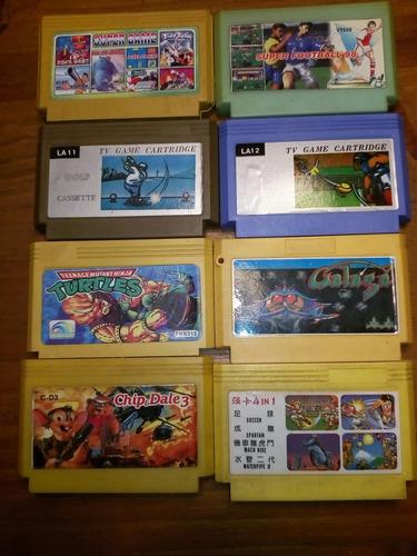 lote de 8 juegos de family game