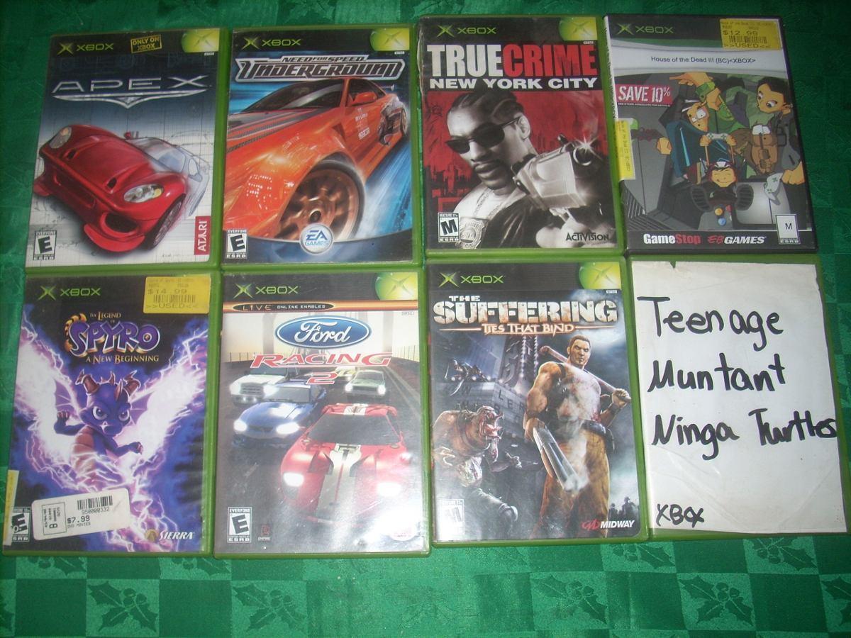 Lote De 8 Juegos De Xbox Clasico 1 000 00 En Mercado Libre