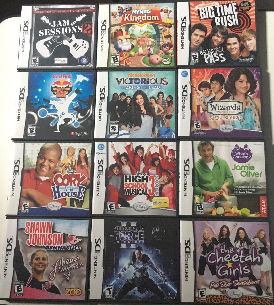 Lote De Juegos Nintendo Ds Nds Games 1 500 00 En Mercado Libre