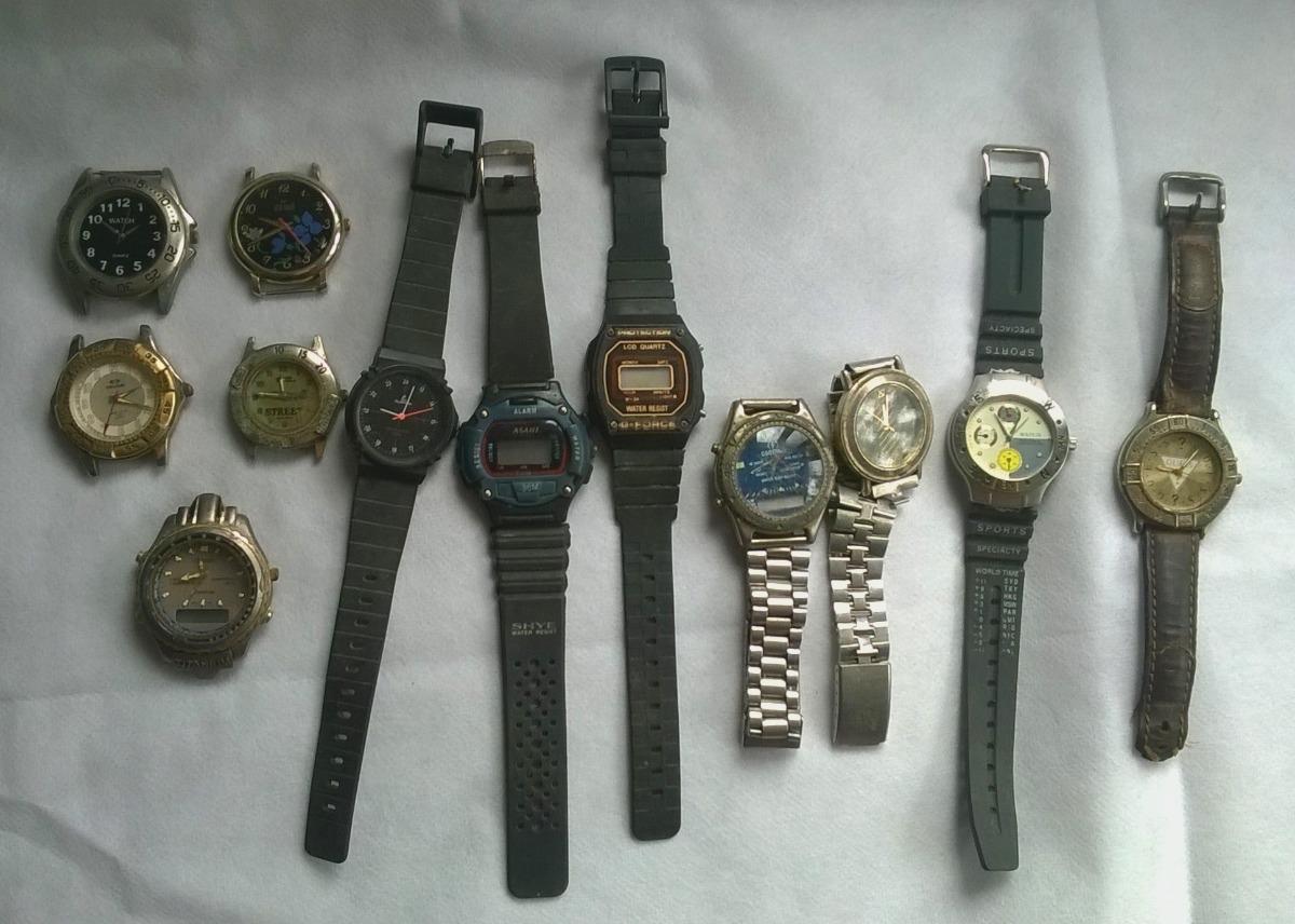 3cbc8ea36a7a Lote De Relojes Para Reparar O Repuesto (lote 1) -   650