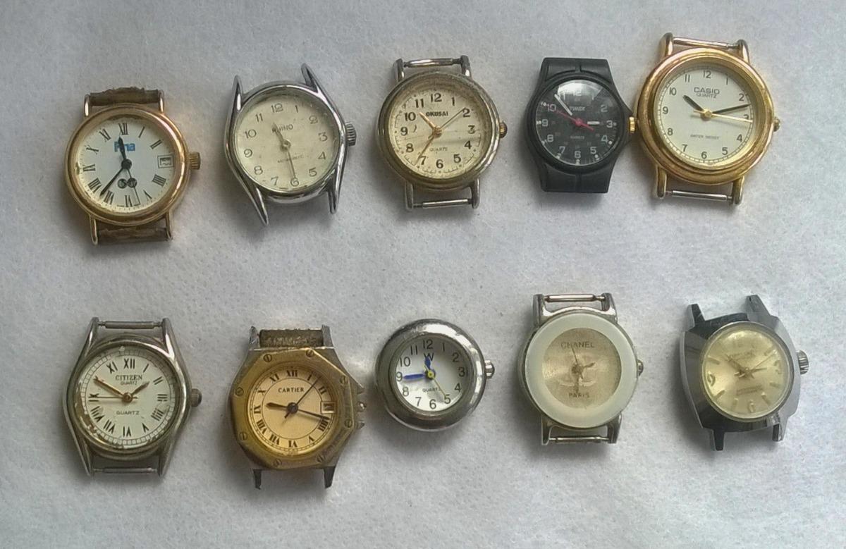 c41ac2d69374 Lote De Relojes Para Reparar O Repuesto (lote 3) -   650