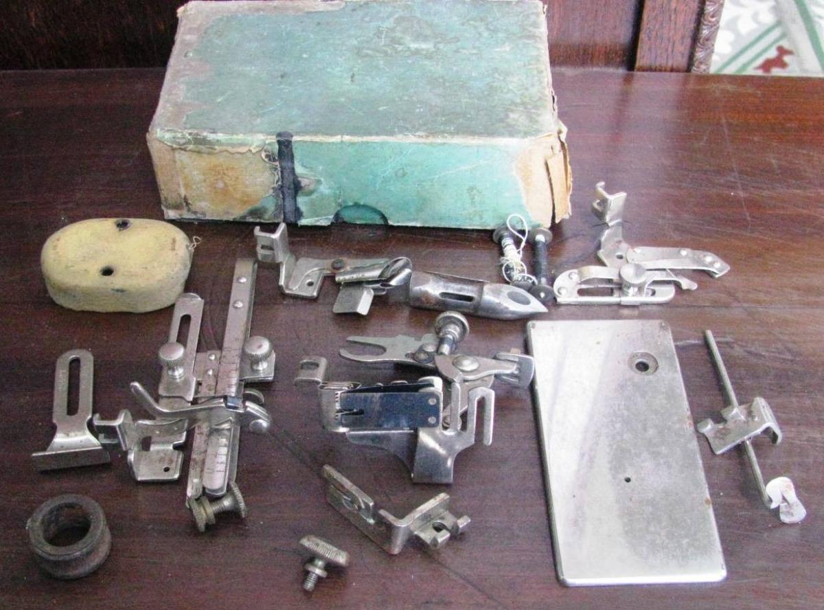Lote De Repuestos Y Accesorios Para Maquina De Coser