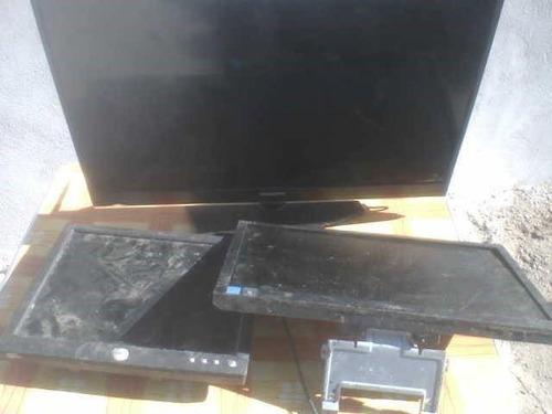 lote de tv, monitor y pantalla plana para respuestos