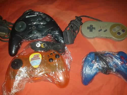 lote mando control joystick snes 50 games y family