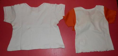 lote musculosa remera blusita algodón beba 6-9 meses