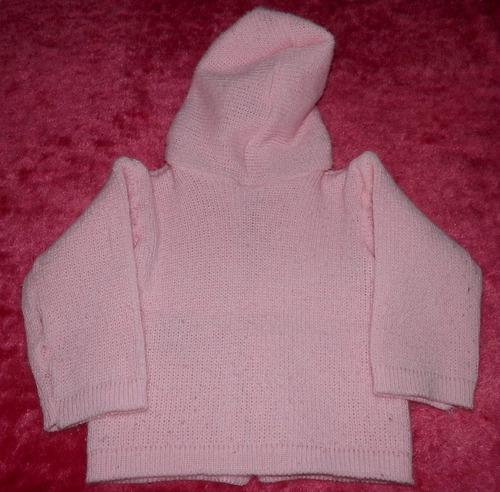 lote ropa abrigo beba 6-12 meses-campera bucito y polera