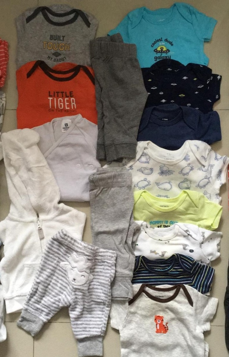 Lote Ropa Bebé 3 Meses Carters 9a5ae48bce32