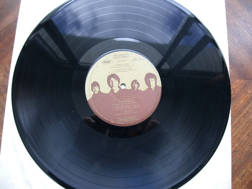 lp. de vinilo, love songs de  the beatles  made in usa, exel