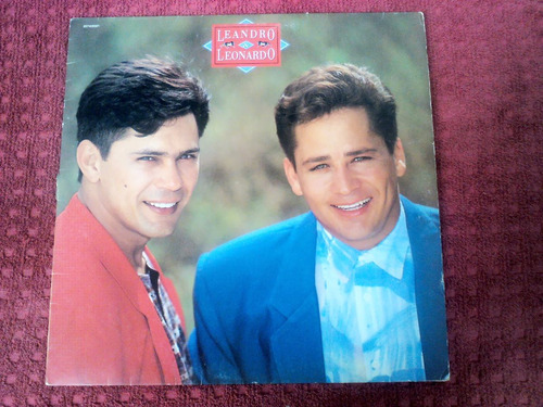 lp vinil - leandro e leonardo - 1993