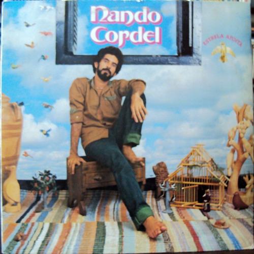 lp vinil - nando cordel - estrêla afoita - 1987