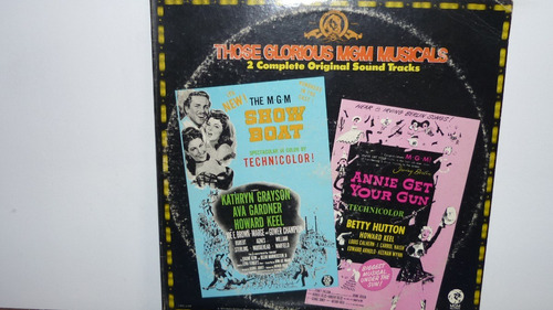 lp vinilo those glorious mgm musicals - show boat