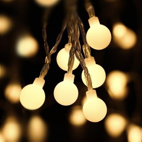 a9dc8b24ad2b6 Luces De Navidad Led - Esferas - 4.5 Metros - Multicolor -   169