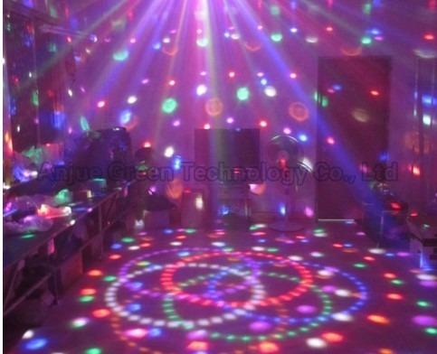 luces giratorias  led efecto bola de espejos ,fiesta 12x12mt