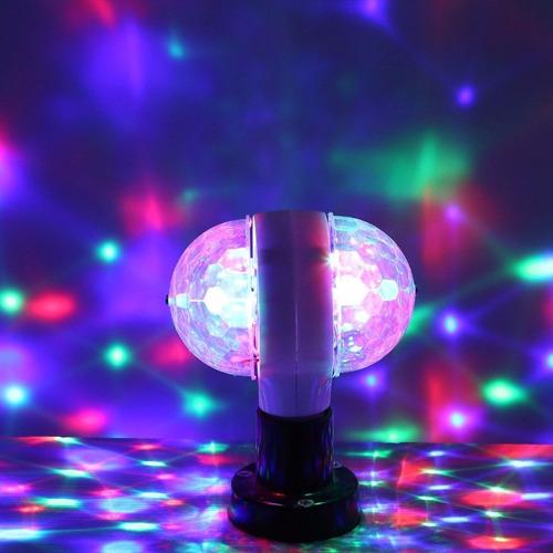 luces led efecto bola espejos doble novedad dj fiestas 10x10