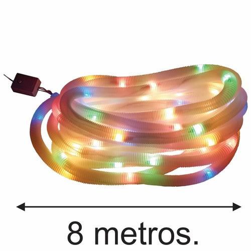 luces led manguera color multifuncion x 70 unid. / adorno na