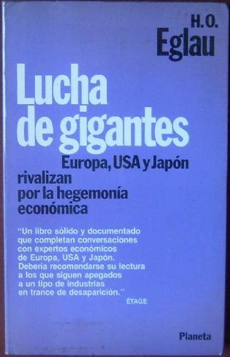 lucha de gigante - eglau, h. o. - planeta - 1983