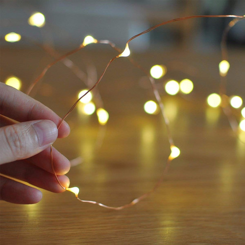 luciérnagas luces led - guirnaldas decorativas  lva 5 metros