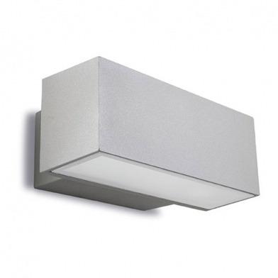 luminaria de adosar a pared afrodita leds-c4 en aluminio
