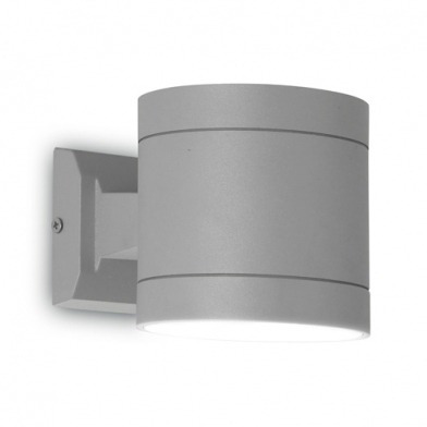 luminaria de adosar a pared selene dir-ind leds-c4 aluminio